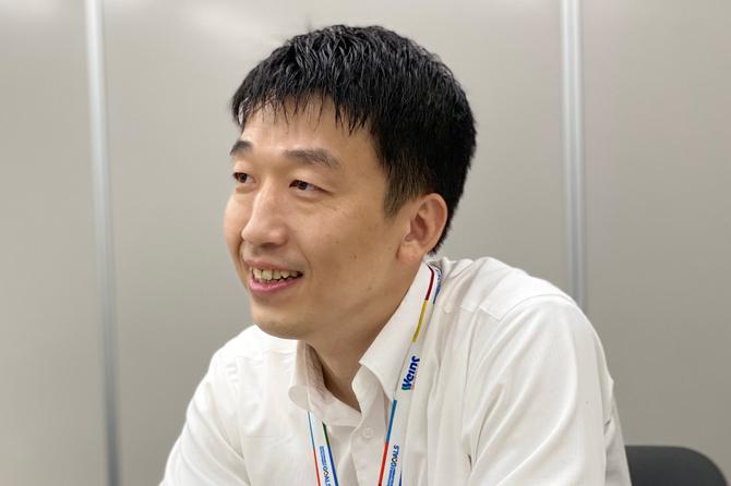 保険・CR推進部 CR推進室 情通グループ 齊藤 亮 氏