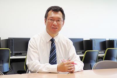 法人事務部 情報基盤センター 課長 博士(工学)井上 清一氏