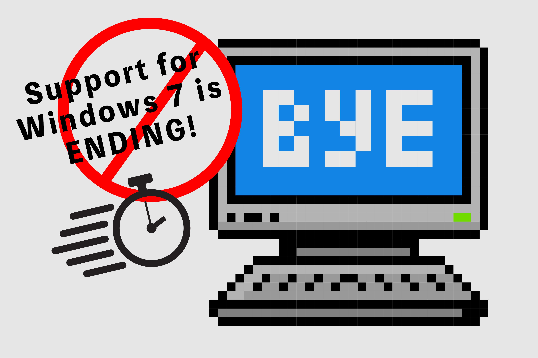 いよいよWindows 7のサポート期限が迫ってきた(2018/9/11 更新)